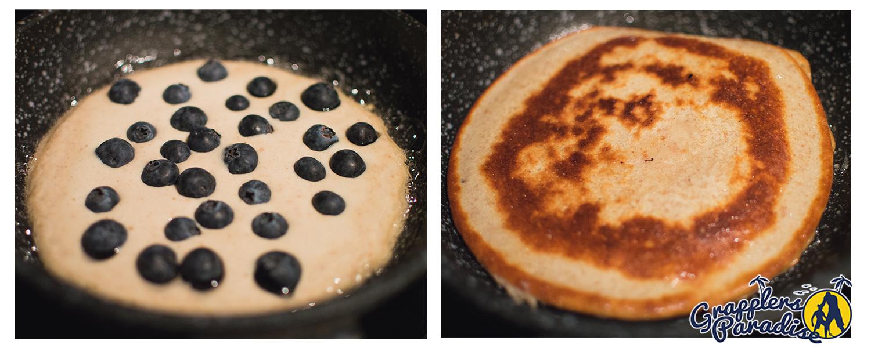 heidelbeer haferflocken protein pancakes fighter futter bjj luta livre grapplers paradise. Black Bedroom Furniture Sets. Home Design Ideas